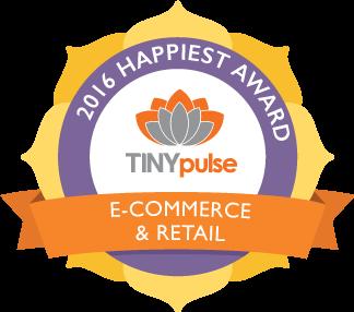 TINYpulse Happiest Award